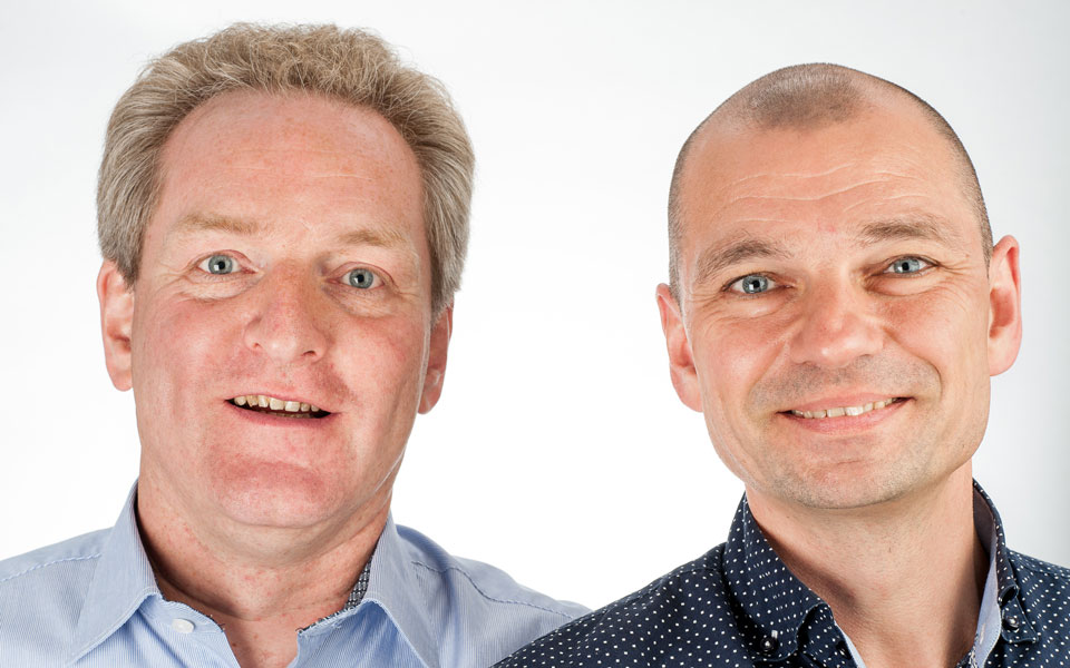 Jan Willem van den Brink en Maarten van Os