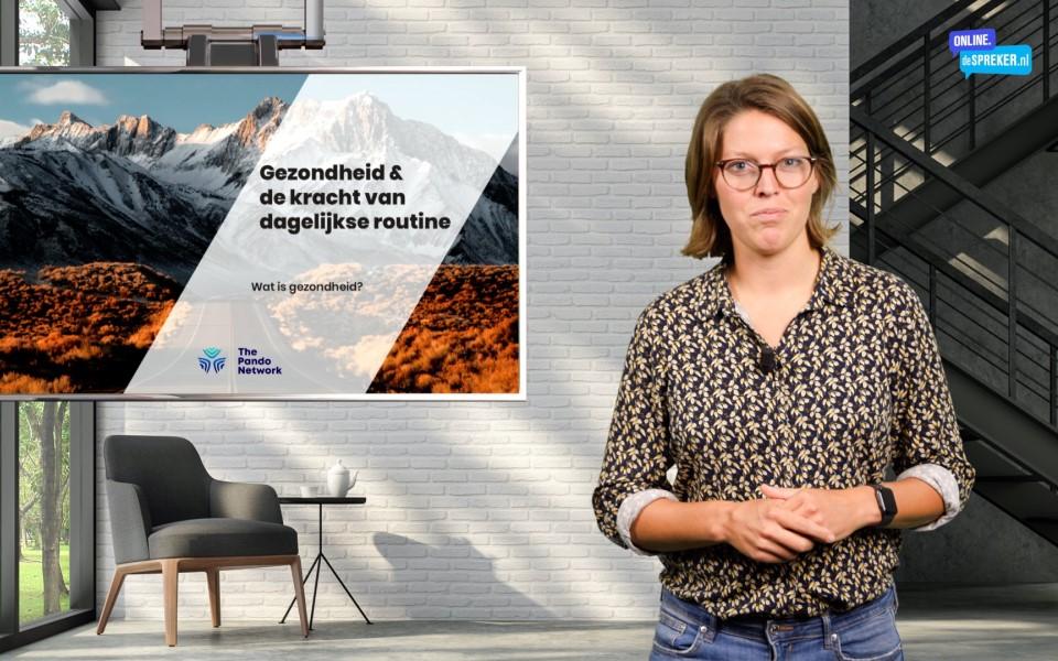 Rosanne Warmerdam - On demand masterclass Gezondheid - bouwen aan een gezonde gemeenschap