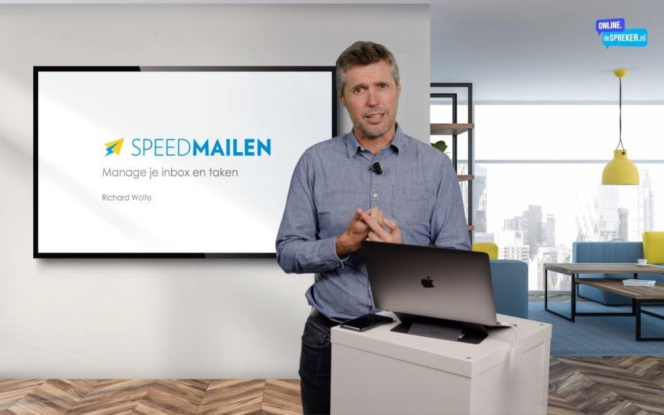 On demand masterclass Speedmailen
